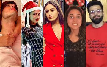 क्रिसमस के रंग में रंगे प्रियांक शर्मा, दिव्यांका त्रिपाठी, सुरभि चंदना, हिना खान और ऋत्विक धन्जनी, किया जमकर एन्जॉय