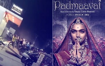DANGER, VIDEO: Ahmedabad's Main Multiplex Rajhans Attacked Over Padmaavat. Are We Safe In Mumbai?