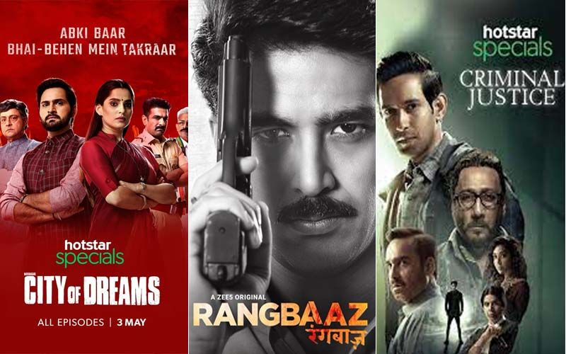 Metropolis of Desires, Rangbaaz, Legal Justice And Extra; Net-Collection Are A Should-Watch If You Have not Already