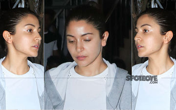 Clear Skin And Girl-Next-Door Outfit: Anushka Sharma Nails The Busy Girl Look