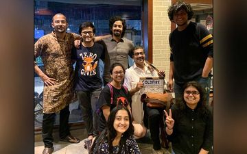 Cold Fire: And Its Wrap Up For Riddhi Sen's Short Film, Pens Down A Message For The Team