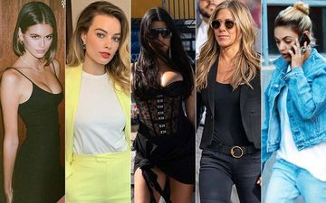 HOLLYWOOD'S HOT METER: Kourtney Kardashian, Margot Robbie, Mila Kunis, Jennifer Aniston Or Kaia Gabber?