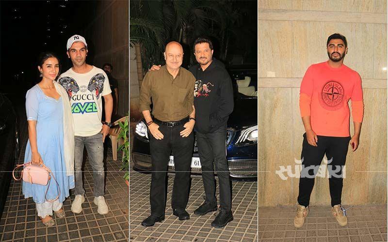 अर्जुन कपूर की फिल्म इंडियाज मोस्ट वांटेड की स्क्रीनिंग में राजकुमार राव, अनिल कपूर और अनुपम खेर संग पहुंचे कई सितारें