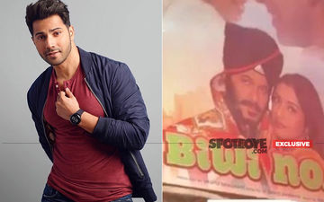 Coolie No 1: Varun Dhawan Shares Sneak Peek From The Sets; What's With Biwi No 1 Banner Though?