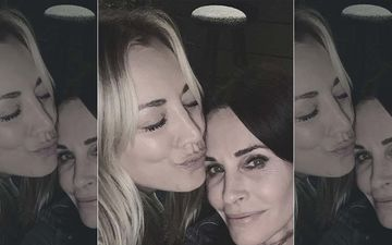FRIENDS Meets The Big Bang Theory: Monica Courteney Cox And Penny Kaley Cuoco's  Selfie Takes Us Back To The Good Old Days