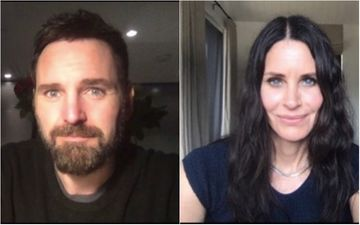 FRIENDS Star Courteney Cox Wishes Boyfriend Johnny McDaid Virtually Thanks To Coronavirus Crisis; Calls Him 'My One'