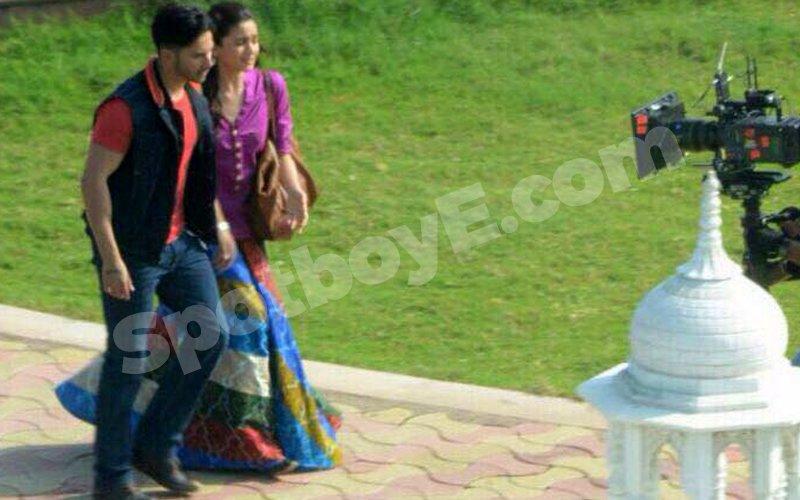 SPOTTED: Varun Dhawan, Alia Bhatt in Rajasthan