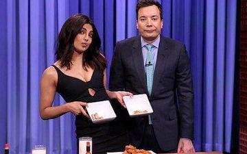 Priyanka's 'hot' win on Jimmy Fallon's show