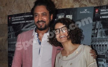 Kangana & Irrfan kiss and make up