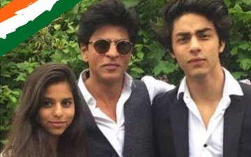 Watch how Shah Rukh Khan is celebrating Independence Day with his kids