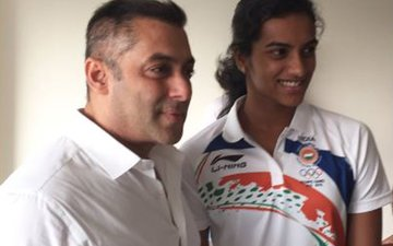Salman Cheers For PV Sindhu On Her Olympic Win
