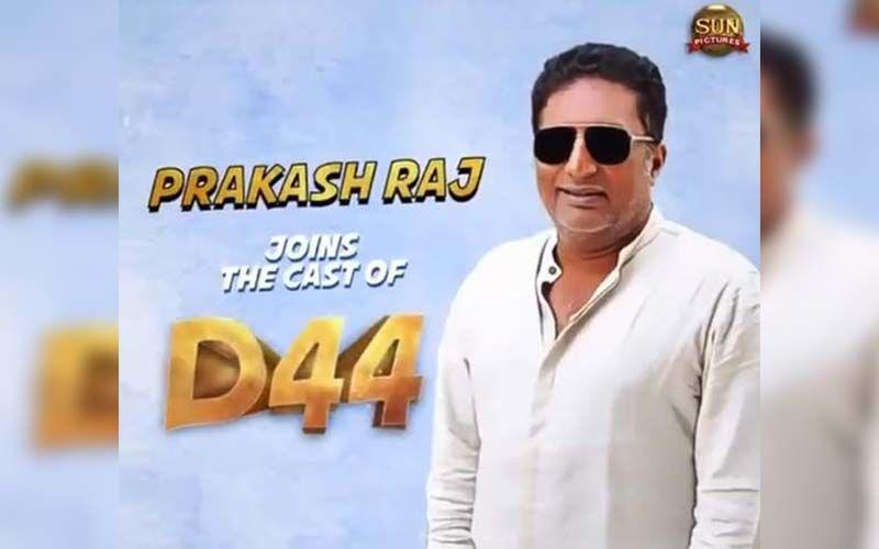 Prakash Raj Joins The Team Of Dhanush Raja's D44, Makers Reveal The Poster