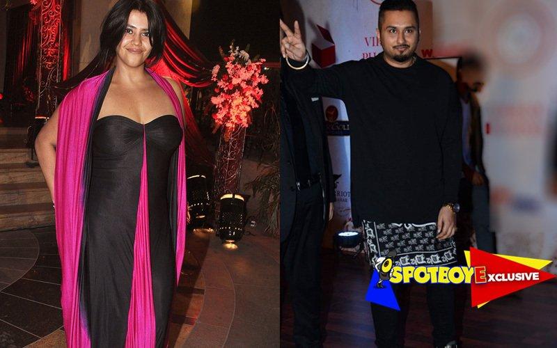 Ekta signs Honey Singh for XXX