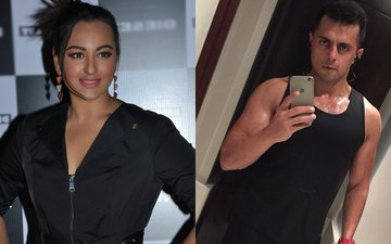 Sonakshi celebrates with Bunty Sajdeh's family