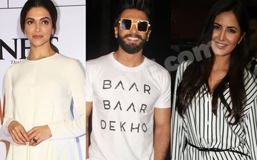 Deepika's Boyfriend Ranveer Comes Out In Support Of Katrina