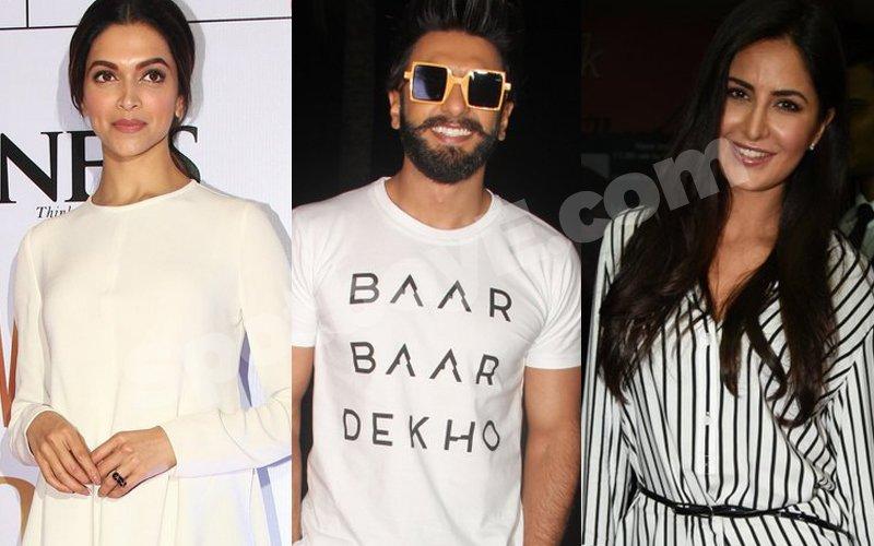 Deepika's Boyfriend Ranveer Comes Out In Support Of Katrina