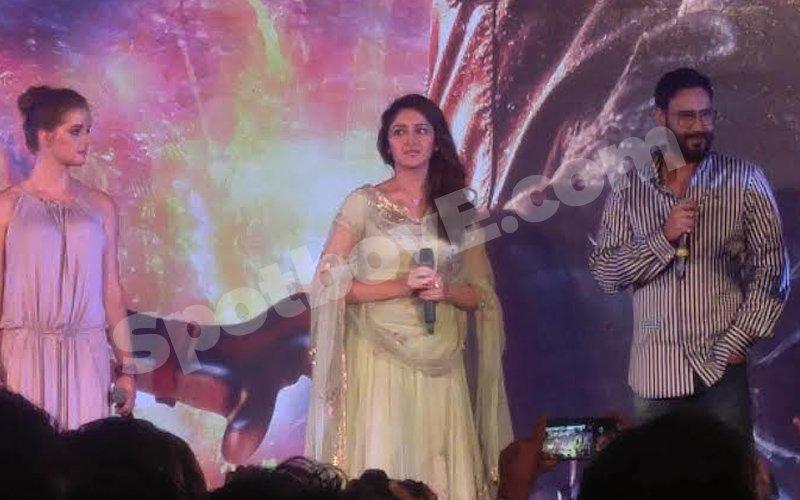 Ajay, Sayyeshaa talk about Shivaay