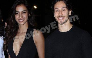 Video: Disha Patani shows up for 'Good Friend' Tiger's Preview Of A Flying Jatt