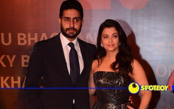 Watch: Abhishek shocks Aishwarya on the red carpet