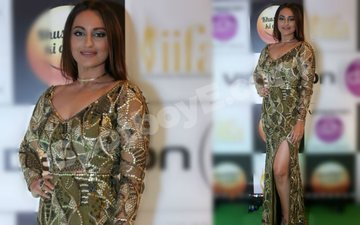 IIFA Fever: Sonakshi rules the green carpet