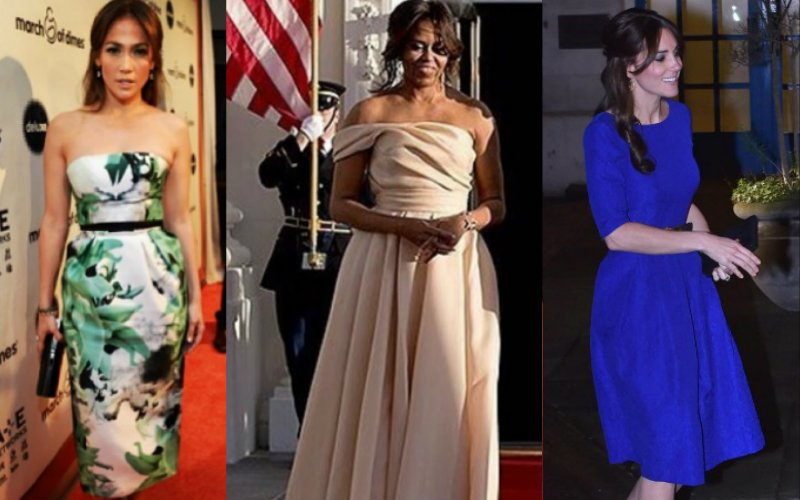 J.Lo, Michelle Obama & Kate Middleton love these desi designers