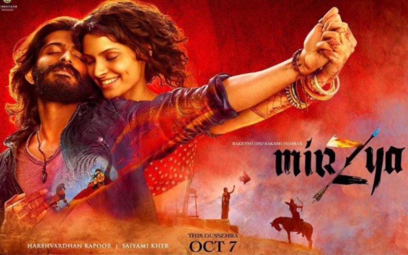 Harshvardhan and Saiyami look vibrant in Mirzya poster