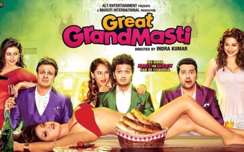 Movie Review: Great Grand Masti…ugh ugh ugh, no thank you