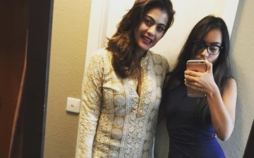 What did Kajol's daughter finally convince her to do?