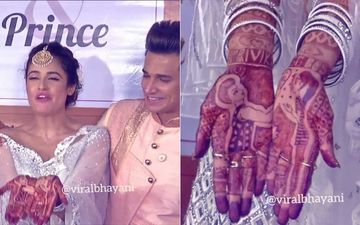 Prince Narula-Yuvika Chaudhary Wedding: Actress' Mehendi Has A Special Story That Will Melt Your Heart