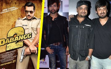 Himesh Reshammiya to replace Sajid Wajid in Dabangg 3?