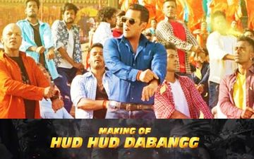 Dabangg 3 Song Hud Hud BTS Video: Salman Khan's Introductory Song Is All About Mass Hysteria And His Antics
