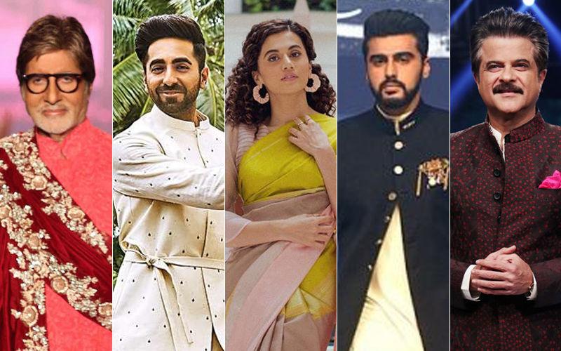 Dahi Handi 2019: Arjun, Anil Kapoor, Amitabh Bachchan, Taapsee Pannu, Ayushmann Khurrana Extend Their Wishes On Social Media