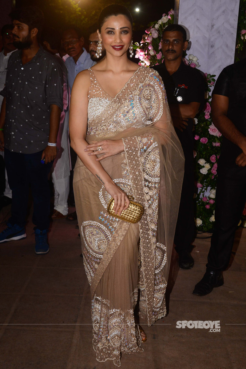 daisy shah at poorna patel reception