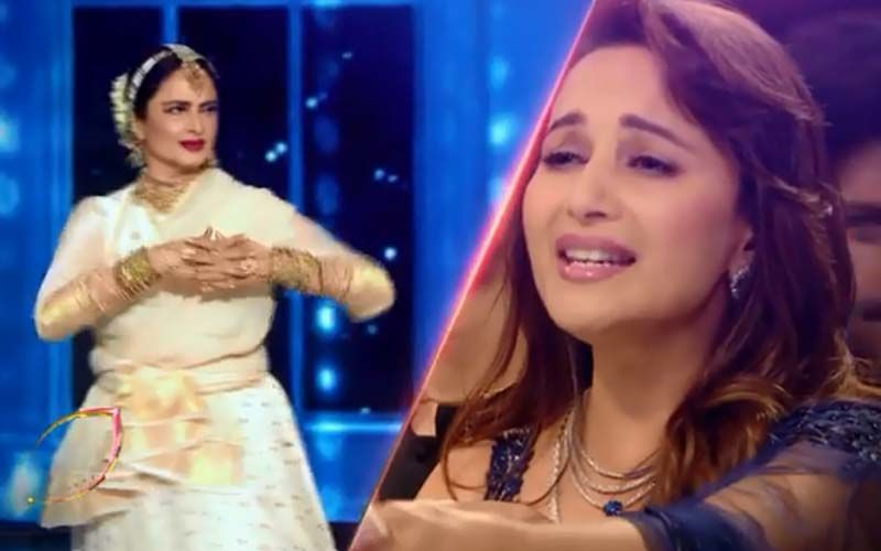 Dance Deewane 3: Rekha And Madhuri Dixit Hit Us With Nostalgia As They Recreate Iconic Scene From Silsila- Video