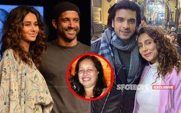Shibani-Anusha's Boyfriends Farhan Akhtar-Karan Kundrra's Special Surprise For Dandekar Sisters' Mom On Her Birthday- EXCLUSIVE