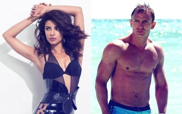 Priyanka Chopra Runs Into James Bond Daniel Craig