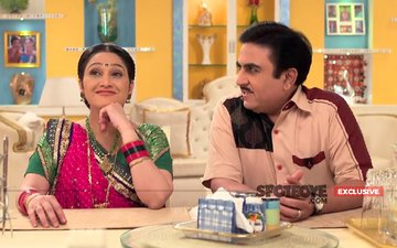 Pics: Disha Vakani Aka Dayaben Back On Taarak Mehta Ka Ooltah Chashmah Sets After Maternity Leave