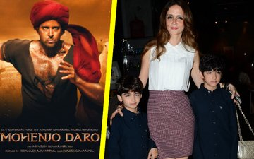 Sussanne catches up with Hrithik's Mohenjo Daro