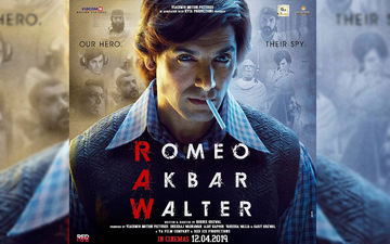 Romeo Akbar Walter Poster: John Abraham As Romeo Is Impressive In The First Look
