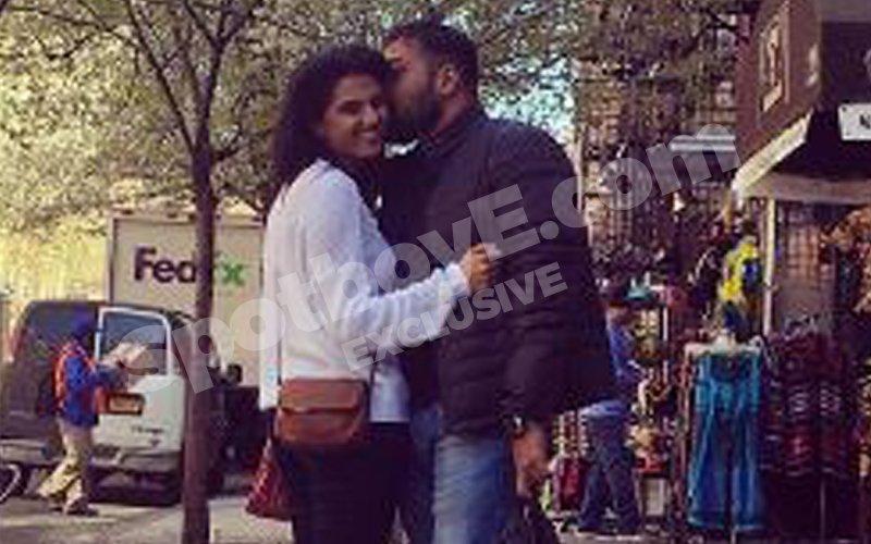 CAUGHT! Anurag Kashyap kissing girlfriend Shubhra Shetty on Manhattan streets