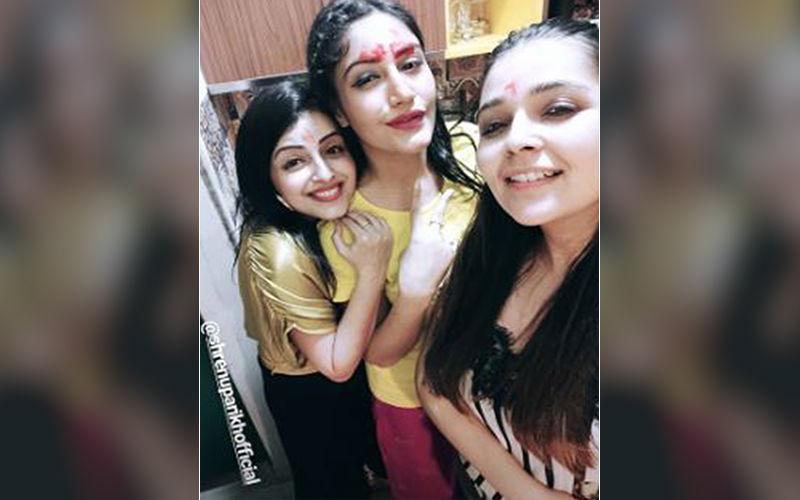 Ishaqbaaaz Girls, Surbhi Chandna, Shrenu Parikh And Mansi Srivastava Reunite For Surbhi's Birthday Celebrations