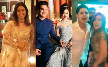 Prince Narula & Yuvika Chaudhary Wedding Reception: Kishwer Merchant, Priyank Sharma, Benafsha Soonawalla Party Hard In Chandigarh