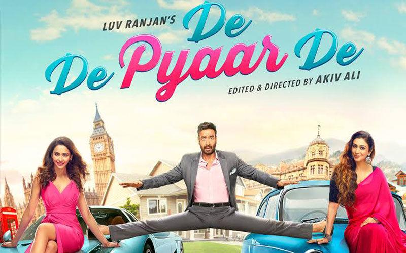 De De Pyaar De Box-Office Collection, Day 2: Love Increases for Tabu-Ajay-Rakul's Naughtiness