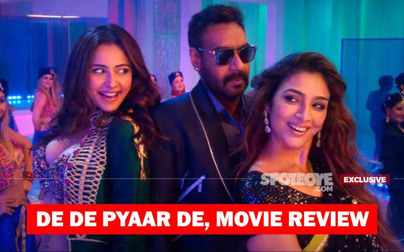 De De Pyaar De, Movie Review: Tabu-Ajay-Rakul Triangle Is Damn Naughty But Yet Won't Scar You