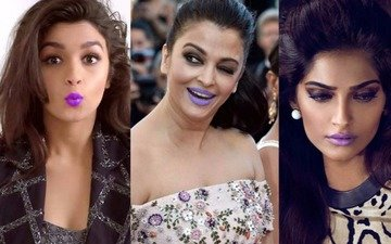 Lipstick Alert! Who Has The Most Perfect 'Purple Pout'?