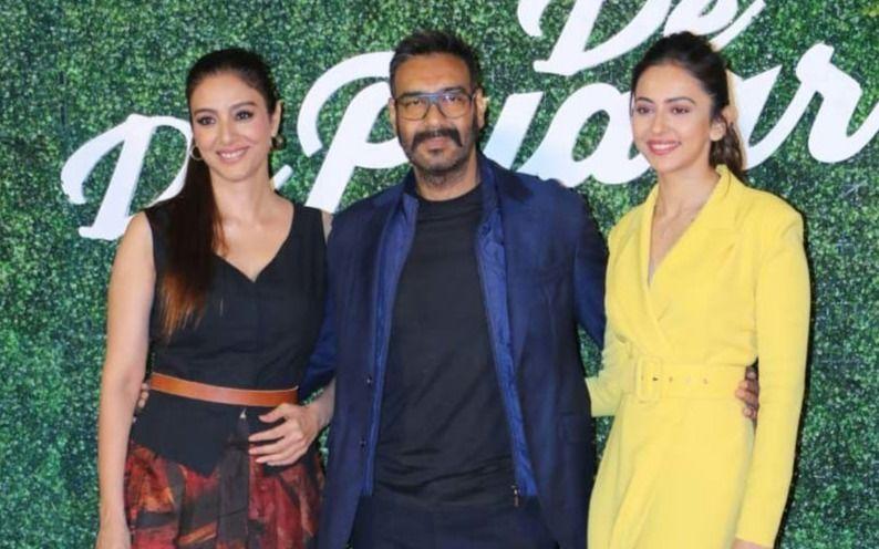 अजय देवगन की फिल्म दे दे प्यार दे ने पहले दिन मचाया बॉक्स ऑफिस पर धमाल
