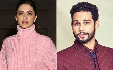 Deepika Padukone-Siddhant Chaturvedi Show Off Peace Sign While Chilling And Giggling In The Balcony