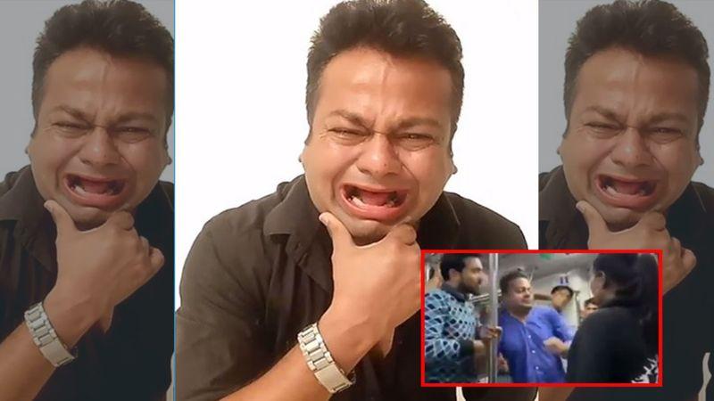 SHOCKING, Rakhi Sawant's 'Fake Husband' Deepak Kalal Gets Slapped By A Woman In The Metro – VIDEO