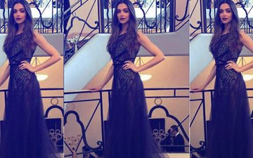 Cannes Film Festival 2017: Deepika Padukone Dares To Bare In A Sheer Black Gown