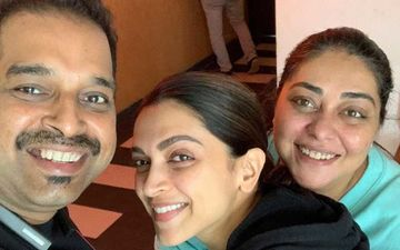 Chhapaak: Deepika Padukone Glows Sans Makeup As She Poses With Shankar Mahadevan And Meghna Gulzar